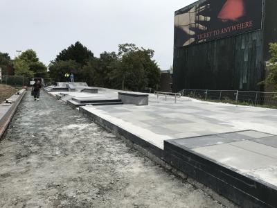Skate-park à la maison des sports de Tournai