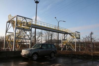 Arcelor Mittal Aperam (Châtelet) - Passerelle